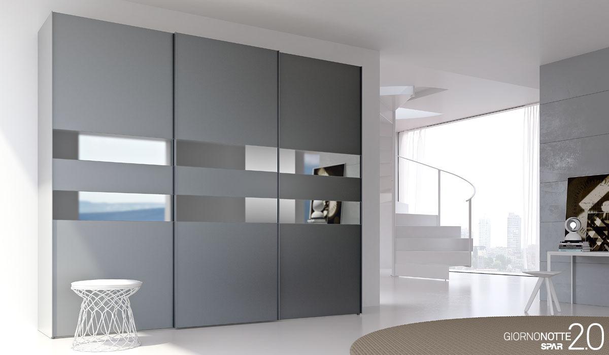 Мебель для спальни - спальня line up - шкаф-купе double 02 -.
